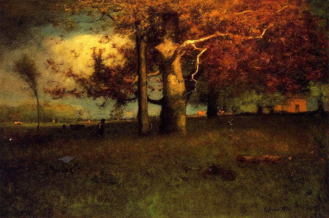 George Inness Début de l'automne, Montclair, 1891