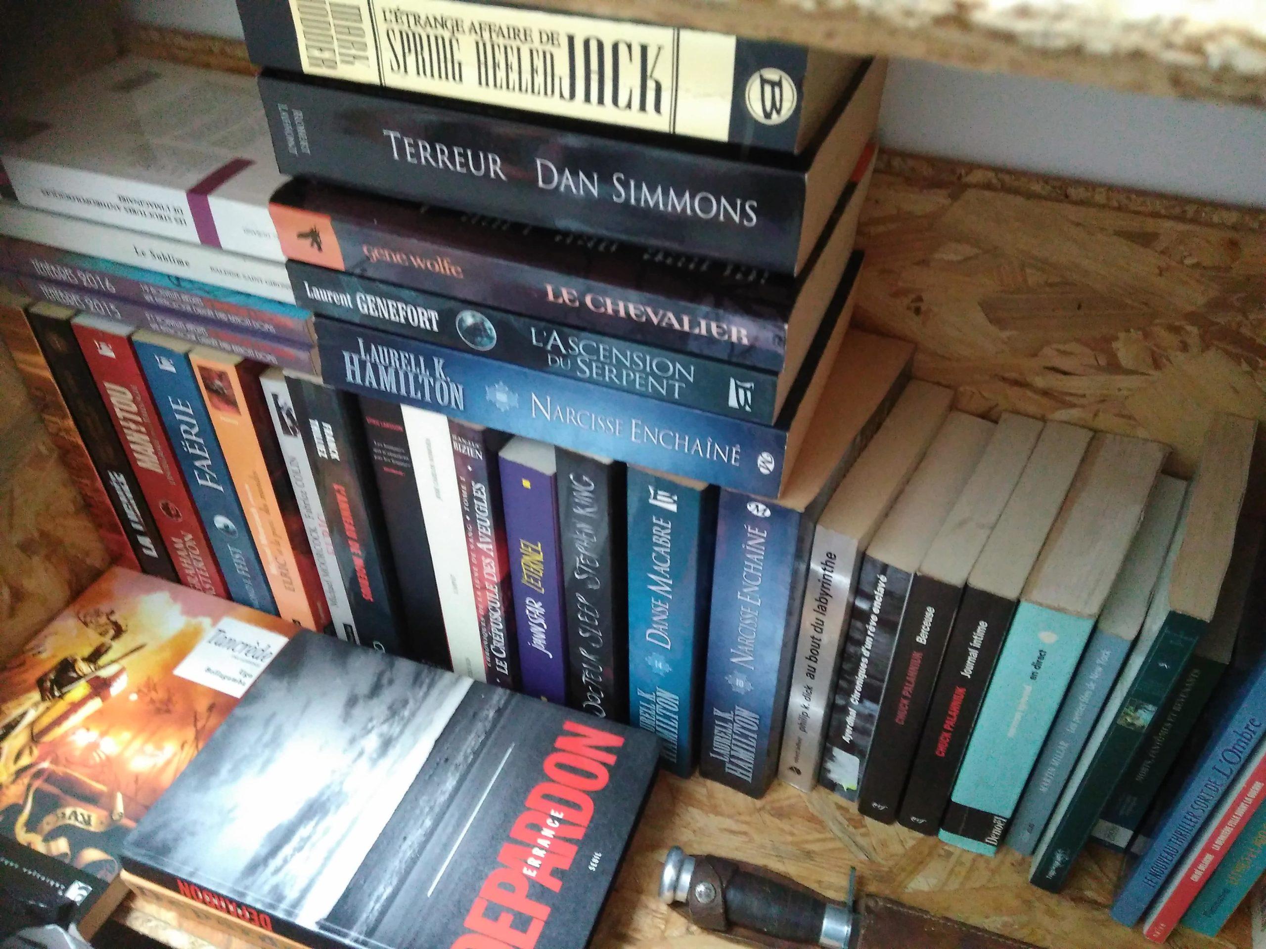 livres en vrac
